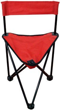 Outdoor Sport Triangle Backrest Foldable Fishing Chair