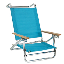 4-Position Aluminum Beach Chair - (Pack of 1)